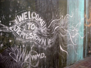 """Participatory street art exhibitions allow residents—old and new alike—to dynamically """"draw"""" their Maboneng experience and shape the artistic product."""